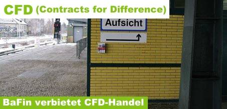 CFD, Contracts for Difference, BaFin-Verbot, Hebel, Leverage, Margin, Margin-Call, Nachschusspflicht,